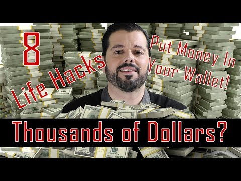 Easily Put Thousands of Dollars In Your Pocket! Simple Life Hacks!