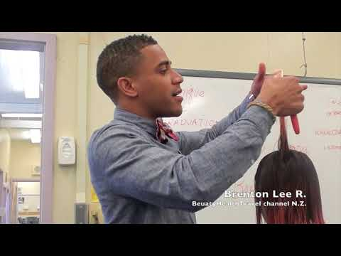 Haircutting formula/principles explained by Brenton Lee