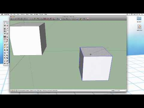 Sketchup #9: The Move Tool