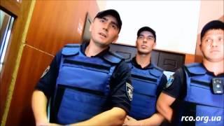 Полицейские псы Днепропетровска охраняют райотделы Одессы