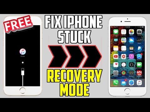 How to Fix iPhone Stuck on Recovery Mode / Apple Logo / Black Screen & More ( iPhone, iPad , iPod)