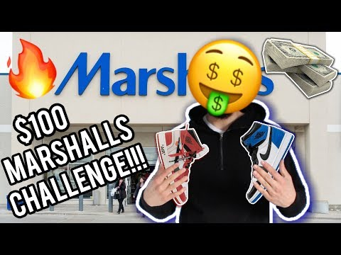 $100 Marshalls Outfit Challenge!!!