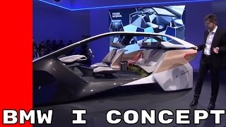 BMW i Inside Future Concept Unveiling At CES 2017