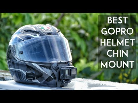 Best GoPro Motorcycle Helmet Chin mount | SoPro Mount Review | RWR