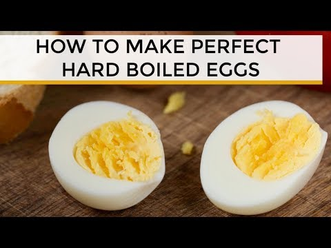 How-To Make Perfectly Cooked Hard Boiled Eggs