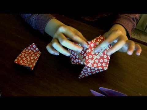 How to Make a origami MAGIC ROSE CUBE!