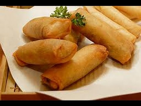 PINOY RECIPE - MOST DELICIOUS SPRING ROLL RECIPE EVER