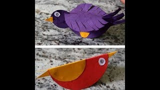How to make paper bird HD Mp4 Download Videos - MobVidz