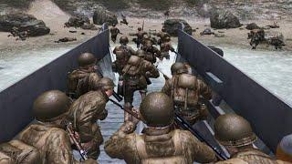 Top 8 Normandy Landings Scenes in Gaming (D-Day - Omaha Beach / Normandy 1944)