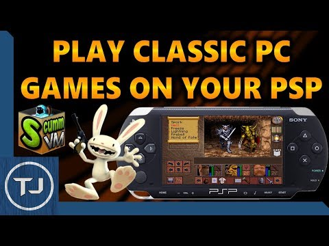Play Classic PC Games On PSP! (ScummVM Emulator)