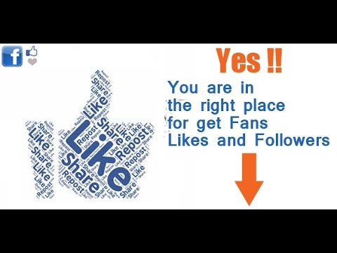 How to get more facebook likes fast  and easy