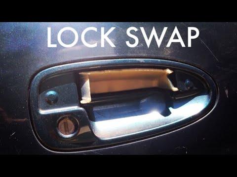 Acura Integra: Door Lock Swap