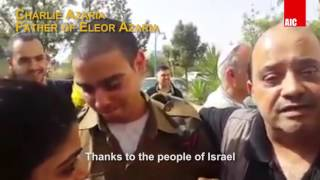 Elor Azaria released released from jail for Passover