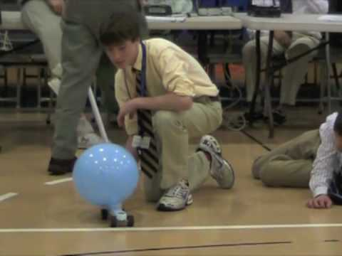 Science Olympics_2010: The Balloon Car Competition
