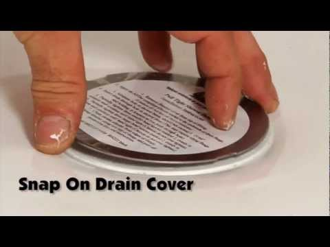 BruCo Easy Install Shower Drain - How to Install a Shower Drain with One Person