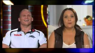 Nigel Plum Perfect Partners - The Footy Show 12 June 2014