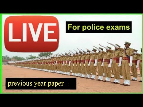 Rajasthan police constable exam 2018 previous year paper discussion