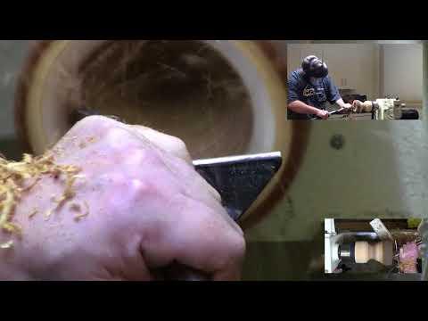 Tod Raines - Natural Edge End Grain Bowl Turning Part 2