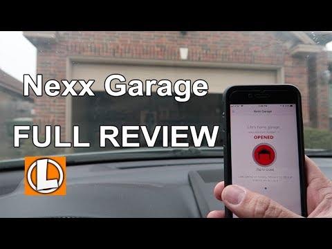 Nexx Garage Review - WiFi Garage Door Opener - Installation and Setup - Alexa | Google Assistant