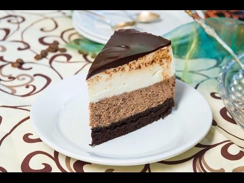 Chocolate Mousse Cake White & Dark