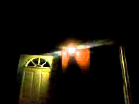 Porch Light Flickers