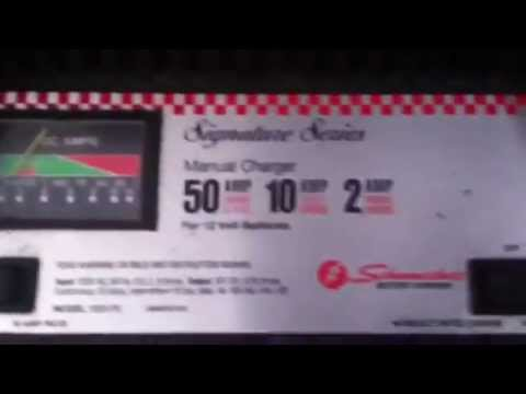 Schumacher battery charger signature series
