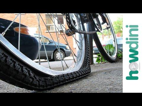 How to fix a bike flat - Repair a bicycle flat