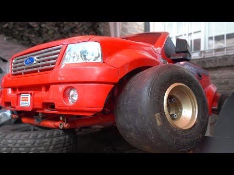 Armando un KARTING en un AUTO DE JUGUETE power wheels!   #1