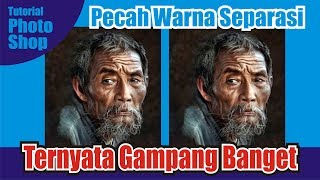 Cara Pecah Warna | Spot Color | di Photoshop (Part 1)