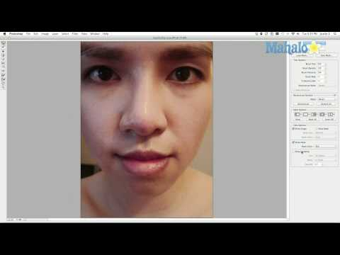 How to Change Nose Size with Photoshop