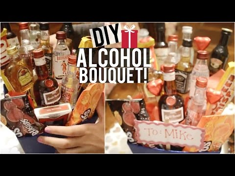 DIY Alcohol Bouquet, Candy Bouquet, Candy Board & More! | DIY Holiday Gifts