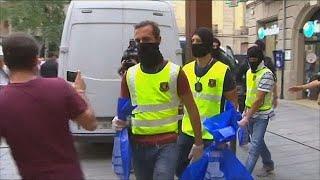 Barcelona: terror cell