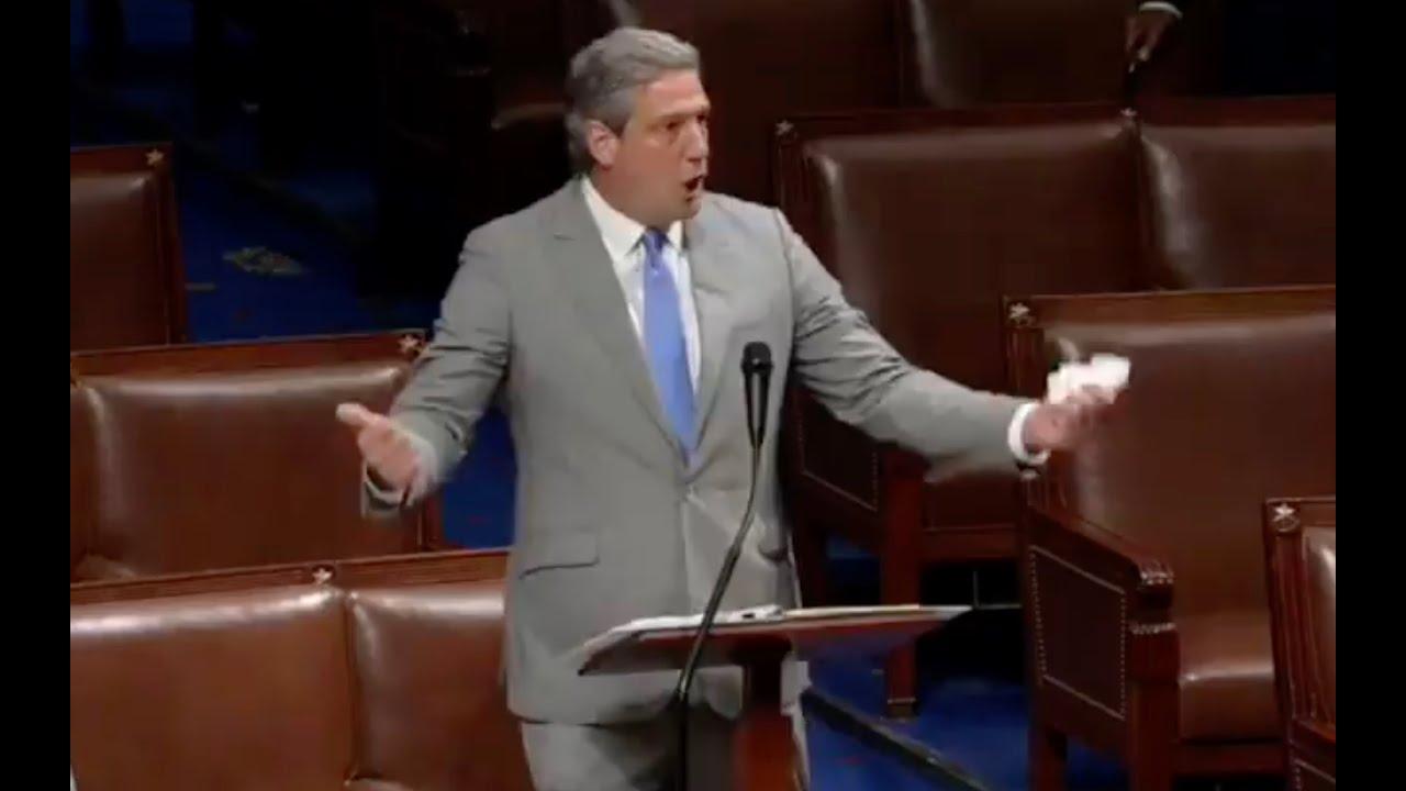 Top Democrat goes MEGAVIRAL shredding Republicans on House floor