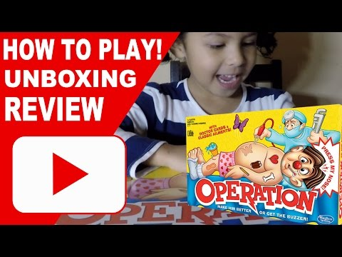CLASSIC OPERATION GAME | HOW TO PLAY | REVIEW | MY VIDEO GAMES WORLD