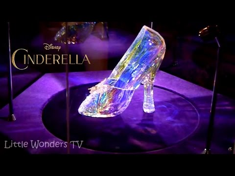 Cinderella Glass Slippers - These are Cinderella's Real Glass Slippers