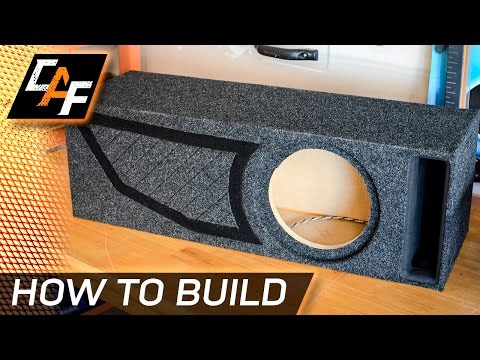 How to: Building a Ported Subwoofer Box - CarAudioFabrication