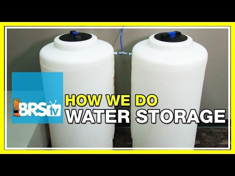 FAQ #6: What kind of water storage tanks are the ones featured on our reef tank setups? | 52 FAQ