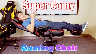 Super Comfy Merax Gaming Chair w/ Footrest for Napping ($129.99 with Code Exp 8/31/2019)