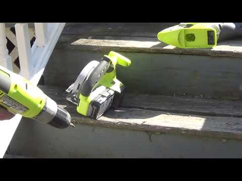 How to replace exterior stair treads -DIY Daddy