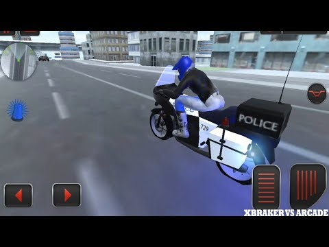 Police Moto Bike Real Gangster Chase Simulator - Android GamePlay HD