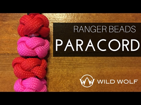 Paracord Ranger Bead - Very Simple and Good Use of Paracord Scraps