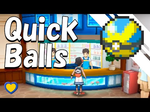 HOW TO GET Quick Balls in Pokemon Ultra Sun and Moon