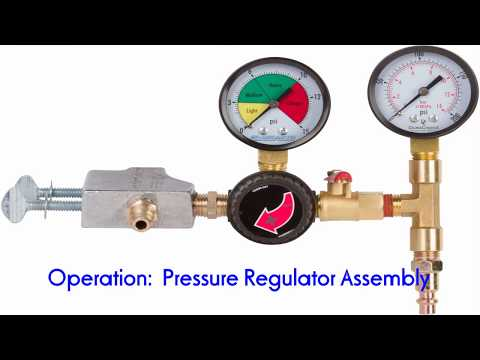Learn How to use a Pressure Regulator with the Carburetor Hopper Wet Blaster for Pool Tile Cleaning