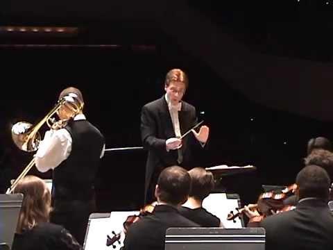 Ewazen: Ballade for Bass Trombone, Harp, and Strings