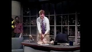 Dave v. Phone Collection on Late Night & Late Show, 1984-2010