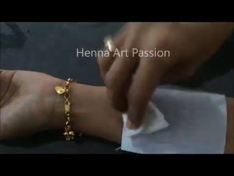 Image/ drawing transfer  for body art henna art : tattoo stencil without deodorant