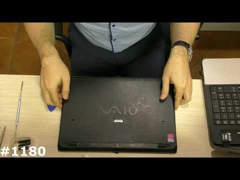 Разборка ноутбука Sony Vaio SVP132A1CV