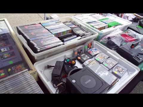 Woodland Park Street Fair, Video Game Cd Trades with AJ & Set Up Woodland Park NJ 5/28/18