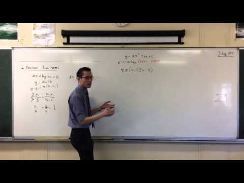 Vertex Form of a Parabola (1 of 2: Why it matters)