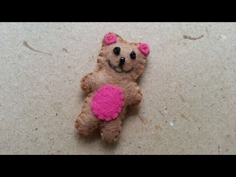How To Make A Mini Teddy Bear Soft Toy - DIY Crafts Tutorial - Guidecentral